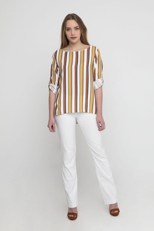 df628947a412 -4% Μπλούζα ριγέ εκάι Albertini Μπλούζες