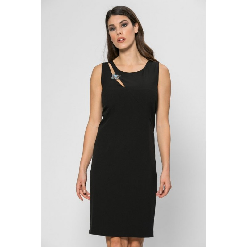 ee4fcd38b249 Φόρεμα μαύρο  ξίφος