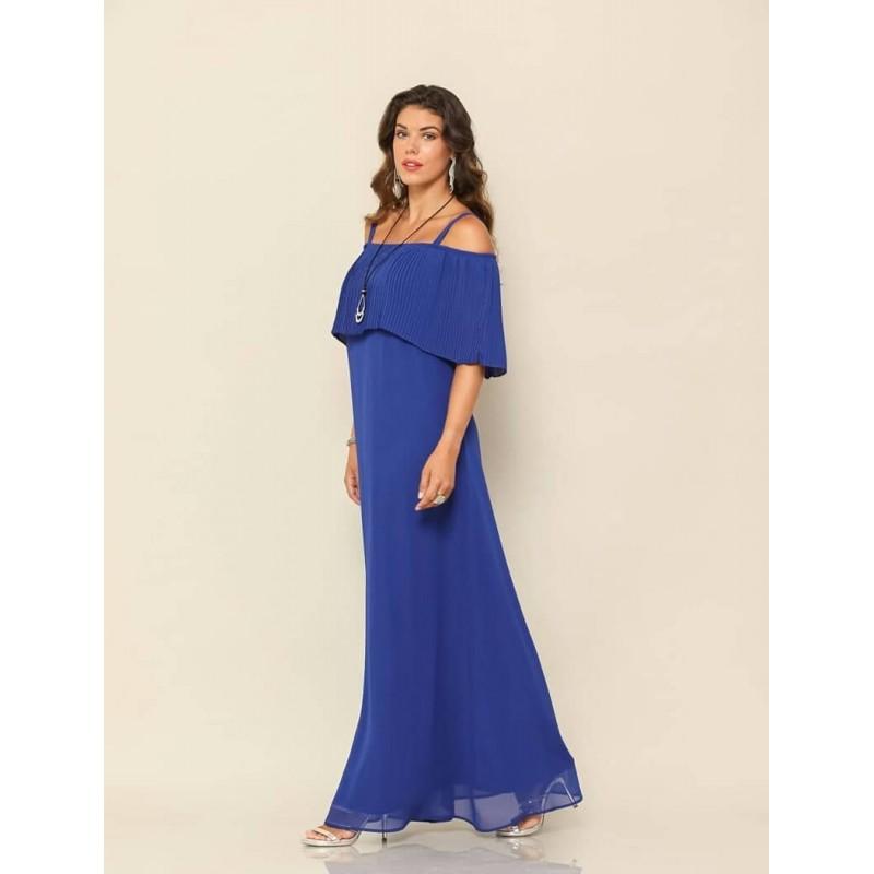 Φόρεμα maxi ρουά